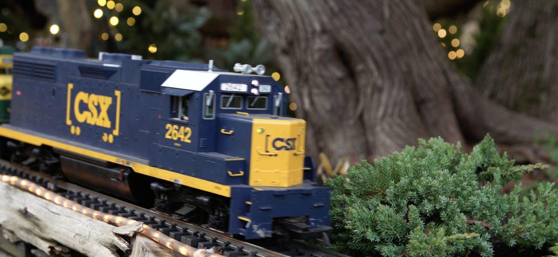 Holiday Garden Railway – Morris Arboretum